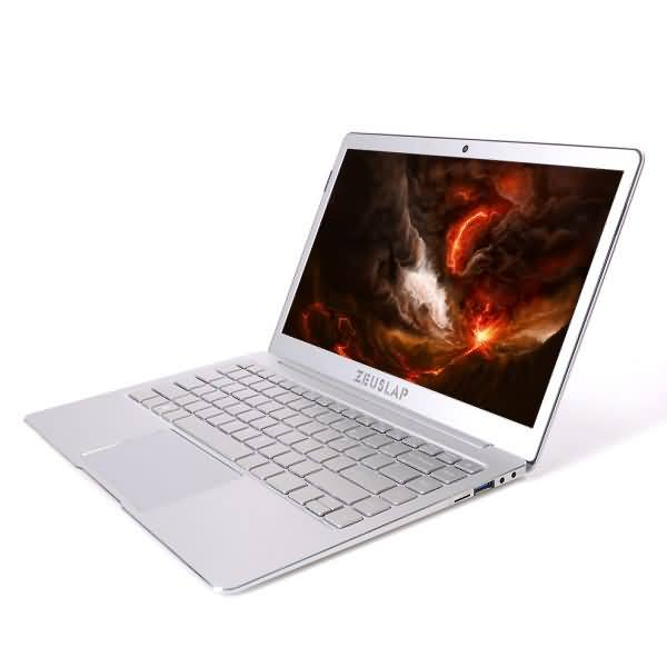 ZEUSLAP 13.3inch 8GB Ram M.2 SSD Quad Core CPU Windows 10 System cheap Ultrathin Laptop