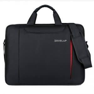 ZEUSLAP Laptop Shoulder Bag 11 12 13.3 14.1 15.4 15.6 Waterproof Nylon ergonomic Messenger Hand Bag Laptop Bag